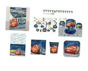 Cars Party Supplies Ultimate Pack - 16 Guests - Lightning Mcqueen Birthday