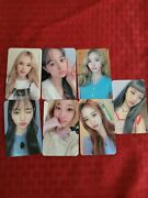 Weeekly Play Game Holiday Music Korea Event Photocards
