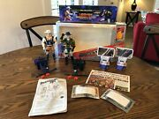 Vintage 1986 Laser-fire Bravestarr And Tex Hex Deluxe Gift Set 100 Complete Rare