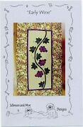 Schmoo And Moe Early Wine Quilt Table Runner Wall Hanging Pattern Uncut Ff New