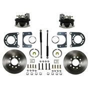 Leed Brakes Rear Disc Brake Conversi On Fits Ford 8in And 9in Rc0001