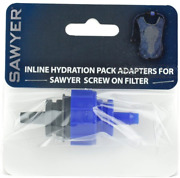 Sawyer Products Sp110 Inline Hydration Pack Adapter For Screw-on Filters Blue...