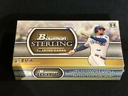 1 - New Factory Sealed 2011 Bowman Sterling Hobby Baseball Box Please Read
