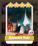 Camelot Tent Coin Master Card 3 For Sale Get Them While They Last 1=3