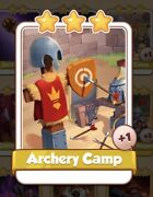 Archery Camp Coin Master Card 1 For Sale Get Them While They Last 1=5