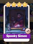 Spooky Simon Coin Master Card 1 For Sale Get Them While They Last 1=5