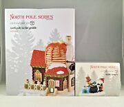 Dept 56 Lot Of 2 North Pole Sizzlin' Griddle + Sizzlin' Samples North Pole New