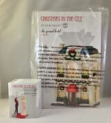Dept 56 Lot Of 2 The Grand Hotel + First Star I See Tonight Cic D56