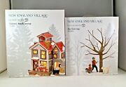Dept 56 Lot Of 2 Mason's Maple Syrup + The First Tap New England D56 Brand New