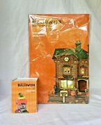 Dept 56 Lot Of 2 Monster Mash Party House+ Tricky Treats Svh Animation + Music