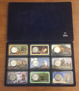 Genuine Morgan Silver Dollar Coin Collection Wild West 9 Coins Sealed