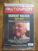 Murray Walker Tribute Autosport 18th March 2021 Mint Condition In Sealed Bag