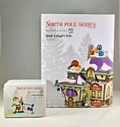Dept 56 Lot Of 2 Jingle And Jangle's Bells + Ring-a-ling Bling North Pole D56 New