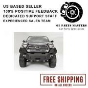 Fab Fours Tt16-b3651-1 For 2016-2017 Toyota Tacoma Premium Winch Front Bumper