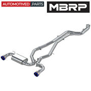 Mbrp S43003be Armor Pro Cat Back Exhaust System For 2020-2021 Toyota Supra 3.0l
