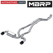 Mbrp S43003cf Armor Pro Cat Back Exhaust System For 2020-2021 Toyota Supra 3.0l