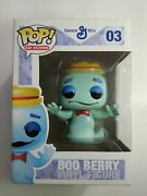 Funko Pop Ad Icons General Mills Boo Berry 03 Vaulted Retired