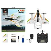 Rc Airplane Remote Control Brushless Stunt Plane 3d/6g Mode Xk X450 Aircraft