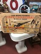 Marx Atomic Cape Canaveral Missile Base Play Set Antique And Very Rare
