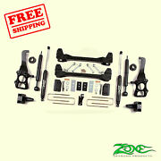 6 Front And Rear Suspension Lift Kit For Ford F150 2wd 2009-2013 Zone