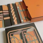 Hermes Puzzle Notebook Set Of 10 Rare Novelty New
