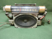 1946 Rca Radio Chassis Globe-trotter 66bx, With Tubes And Speaker, For Parts
