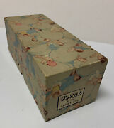 Vintage '50s Plakie Lanky Lou Baby Rattle 606 Box Only Great Condition No Toy