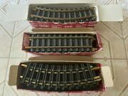 Lgb 10000 11000 X 2 - G Scale Train Tracks - Straight Curved Right