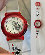 Rare Pepe Le Pew And Penelope Warner Bros Studio Store Watch By Fossil Works