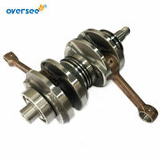 Oversee Crankshaft Assy 66t-11400 For Yamaha 40hp 40x Outboard Engine 2 Stroke