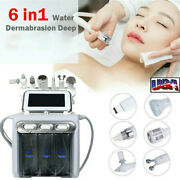 6 In1 Hydra Hydro Machine Water Dermabrasion Deep Facial Cleansing Face Spa Home