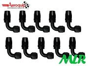Aeroquip Fbm4432 Anno -6 Jic 90anddeg Degree Fuel Injection Carb Hose Fittings