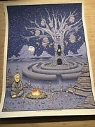 Goose The Band Poster - Le - Summer 21 Pine Creek Labyrinth - Livingston Montana