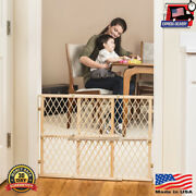 Diamond Mesh Gate Sturdy Security Child Safety Indoor Baby Care Home Gates New