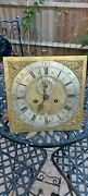 Early Longcase Clock Movement By Henderson Scarborough Grandfather Clock