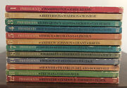 Dell 1967 American Heritage Book Of The Presidents And Famous Americans 12 Vol Set