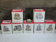 Vtg Lot 7 The Americana Collection Liberty Falls Village Pieces Houses Buildings