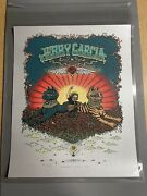 Jerry Garcia - Marq Spusta Silver Variant Edition Of 100 Grateful Dead Signed