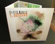 David Bowie Outside 2 X Lp White Vinyl Friday Music Sealed Tri-fold Cover Oop