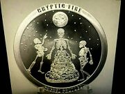 1oz.999 Silvercryptic Fire-sacred Protocolvery Cool Lookinggreat Piece