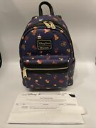 Loungefly Disney Park Snack Food Icon Mini Backpack Discontinued Rare Nwt R/9