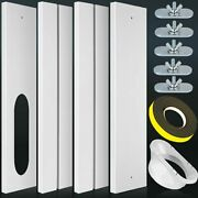 Universal Portable Air Conditioner Window Seal Kit With 5.1'' Coupler, Reinforce