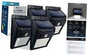 The Original Lumiguard Solar Motion Light By - 200lm Led Wireless 4 Pack