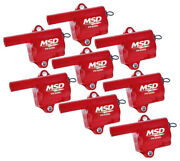 Msd Ignition Gm Ls Truck Style Coils - 8 82868
