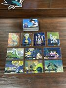 2001 Dragon Ball Z Card Lot Artbox - Complete Base Set Of 72 And 10 Prism Cards
