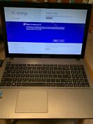 Asus X550c Touch Laptop - Factory Reset With Power Supply Working Condition