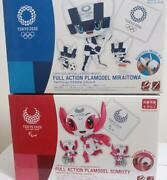 Tokyo 2020 Olympic And Paralympic Mascot Full Plastic Model Figure