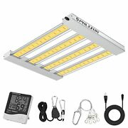 Phlizon Pro 2000w Led Grow Light 4x4ft Full Spectrum Led Grow Lights With 2.8 Andmicrom