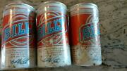 Billy Beer 6 Pack With Original Plastic Holder Empty Beer Cans And Price Tag