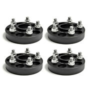 4x 1 Stud On Wheel Spacers 5x114.3 For Nissan And Infiniti G35 G37 350 Z 370 Z